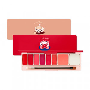 ETUDE HOUSE Play Color Lip & Cheek Palette 0.6g*6 + 1g*2