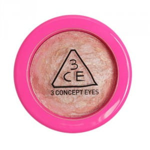 STYLENANDA 3 Concept Eyes Pink Marble Highlighter #Bling Peach 5.5g