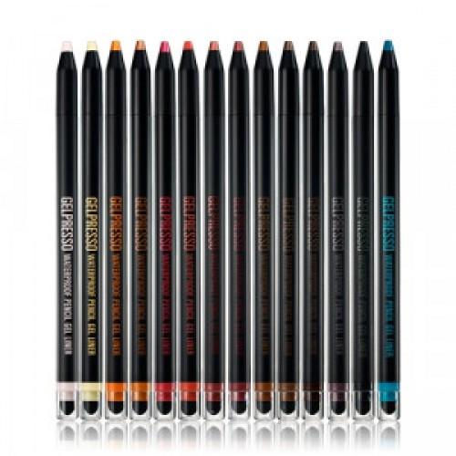 Водостойкий гель-карандаш для глаз Clio Gel presso pencil gel liner 0.2g