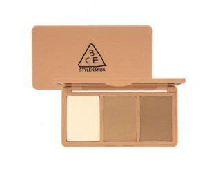 STYLENANDA 3CE FACE CONTOUR TUNING PALETTE #TAWNY