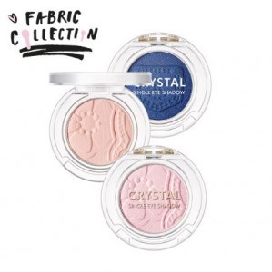 Tony Moly Crystal Single Eye Shadow 1.7g [Fabric Collection]