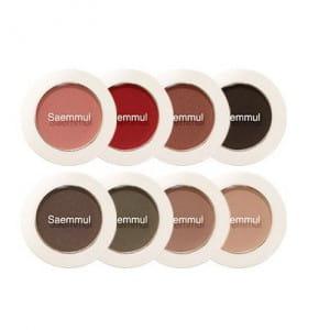 THE SAEM Saemmul single shadow(matt)
