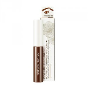 Тушь для коррекции цвета и формы бровей Nature Republic Botanical Eyebrow Mascara 4.5g #1 Brown