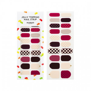 SKINFOOD Jelly Topping Nail Strip 1ea (20strips)