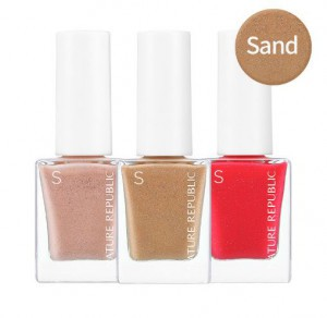 NATURE REPUBLIC Color&Nature Nail Color_Sand 8ml (#46-#49)