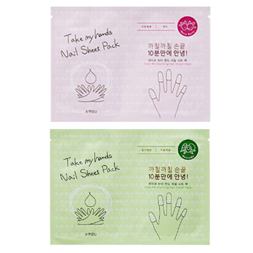 Маска для ногтей A'Pieu Take My Hands Nail Sheet Pack 2ml*10pcs