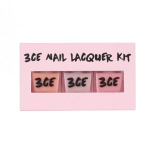 STYLENANDA 3CE PINK RUMOUR NAIL LACQUER KIT