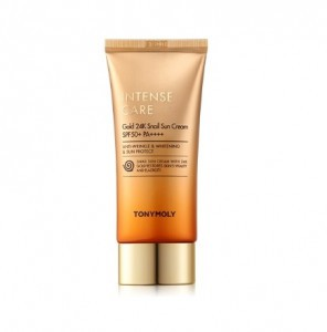 TONY MOLY Intense Care Gold 24K Snail Sun Cream SPF50+ PA++++ 50ml