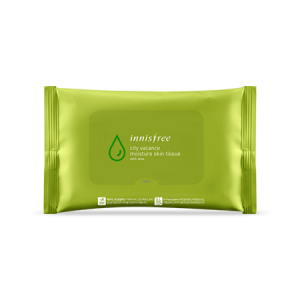INNISFREE City Vacance Moisture Skin Tissue 30sheets