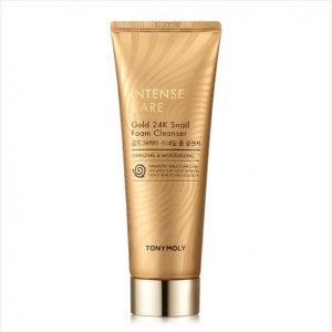 Tony Moly Intense Care Gold 24K Snail Foam Cleanser 150ml