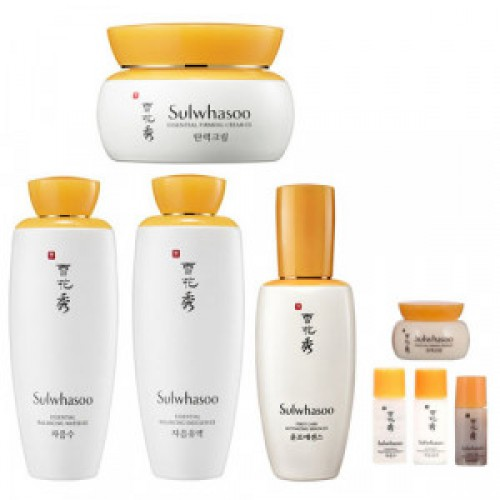 SULWHASOO Essential Balancing Water 125ml + Essential Balancing Emulsion 125ml + First Care Activating Serum EX 90ml + Essential Firming Cream EX 75ml