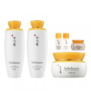 SULWHASOO Essential Balancing Water 125ml + Essential Balancing Emulsion 125ml + Essential Firming Cream EX 75ml