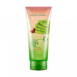 NATURE REPUBLIC Soothing & Moisture Cactus 92% Soothing Gel 250ml