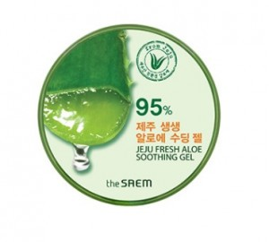 THE SAEM Jeju Fresh Aloe Soothing Gel 95% 300ml