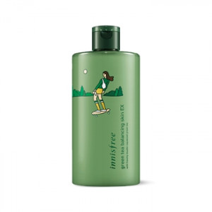 INNISFREE Eco Hankie X Green Tea Balnacing Skin EX 400ml