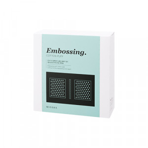 MISSHA Embossing Cotton Puff 270sheets