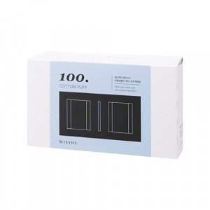 MISSHA Cotton 100 Puff 100sheets