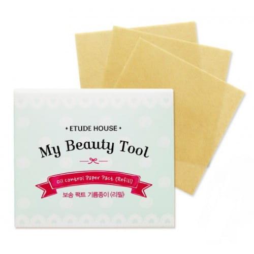 Матирующие салфетки Etude House My beauty tool oil control paper pact (refill)