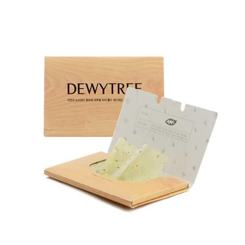 Матирующие салфетки для лица Dewytree Nature Source Green Tee Mattifying Linens 50pcs