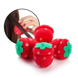 Заколки для волос MERRYSHOP Strawberry Hair Doll Dolly 4p