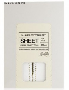 Tony Moly 5-Layer Cotten Sheet 400pcs