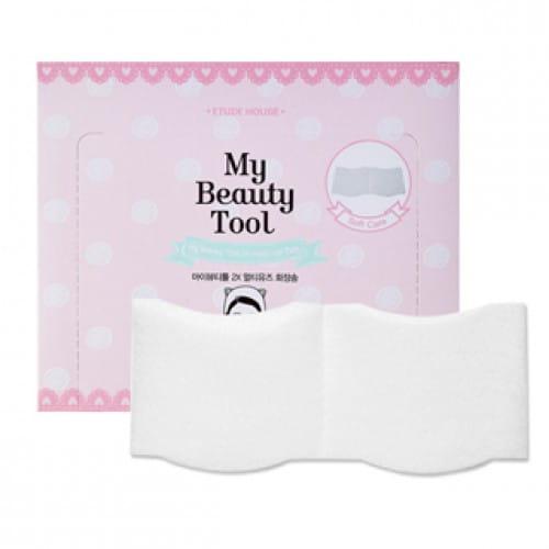 ETUDE HOUSE My Beauty Tool 2X Multi Use Cotton Puff 60P