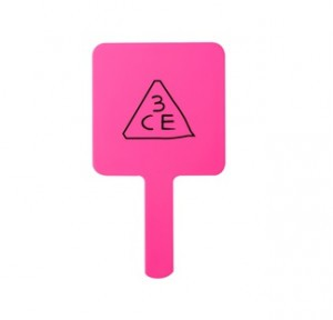 STYLENANDA 3CE SQUARE HAND MIRROR # Pink