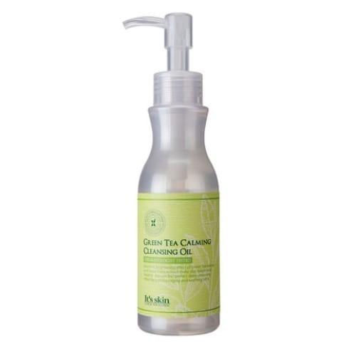 Очищающее масло для лица с экстрактом зеленого чая  It's Skin Green Tea Calming Cleansing Oil