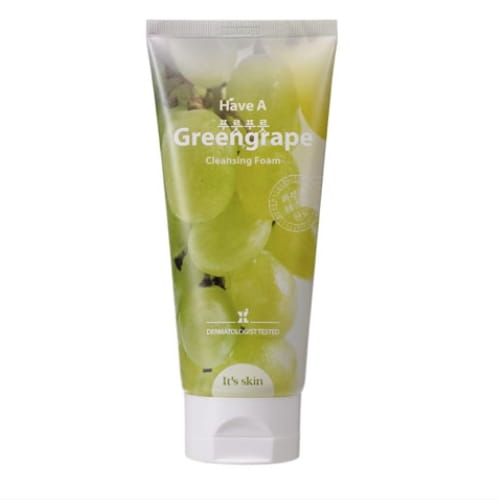 Мягкая очищающая пенка для лица  It's Skin Have a Greengrape Cleansing Foam 150ml