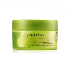 Очищающий крем для лица с яблочным экстрактом Innisfree Apple Juicy Cleansing Cream 150ml