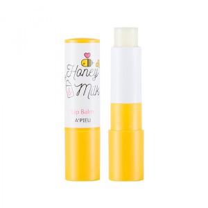 Питательный бальзам для губ Apieu Honey & milk lip balm 3.3g