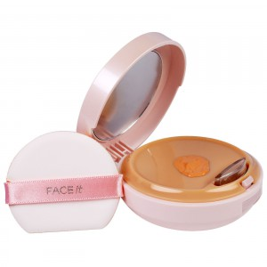 Увлажняющий СС-крем  (запаска) The Face Shop Face it aura color control cream spf30 pa++ 20g [refill]