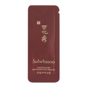 Обновляющий крем Sulwhasoo Timetreasure renovating cream 1ml×10(10ml)