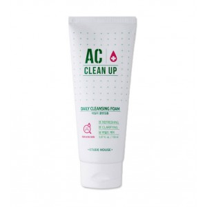 Пенка для глубокой очистки пор Etude House AC clean up daily cleansing foam