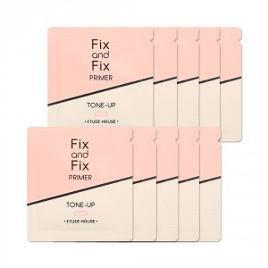 Праймер с солнцезащитным эффектом Etude House Fix and fix tone up primer spf33 pa++ 1ml*10ea