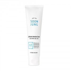 Интенсивный восстанавливающий крем Etude House Soon jung 2x barrier intensive cream 60ml