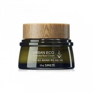 Увлажняющий крем для кожи век The Saem Urban eco harakeke root eye cream 30ml