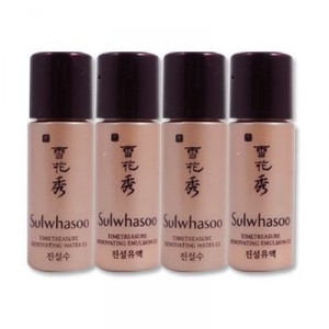 Комплект миниатюр тонер+эмульсия Sulwhasoo Timetreasure perfecting miniature set × 2