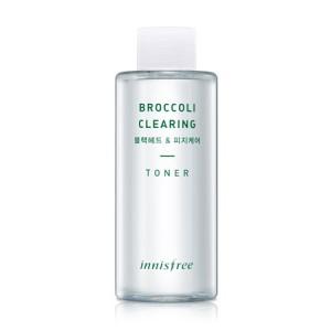 Очищающий тонер с брокколи Innisfree Super food broccoli clearing toner 150ml