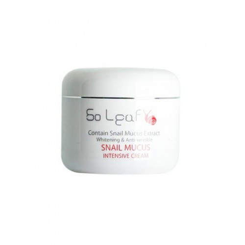 Питательный крем So Leaf Snail mucus instensive cream 100g