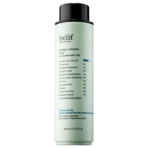 Тонер для проблемной кожи лица Belif Problem solution green toner 200ml