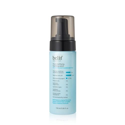 Пенка-мусс Belif Pure clarifying foaming wash 150ml
