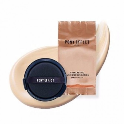 База под макияж Pony Effect Coverstay cushion foundation 15g*2ea