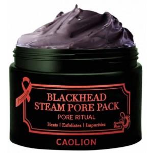 Разогревающая маска для очищения пор Caolion Blackhead Steam Pore Pack 50g