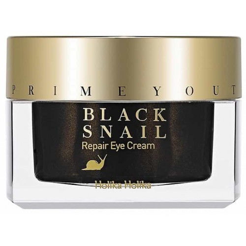 Восстанавливающий крем для глаз HOLIKAHOlIKA Prime Youth Black Snail Repair Eye Cream 30ml