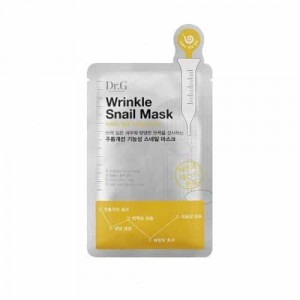 Маска с улиточным секретом  DR.G Wrinkle Snail mask *10ea