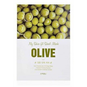 Листовая маска Apieu My skin - fit sheet mask - olive 25g