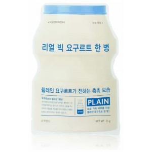 Тканевая маска с йогуртом APIEU Real Big Yogurt One-Bottle 21g (Plain)